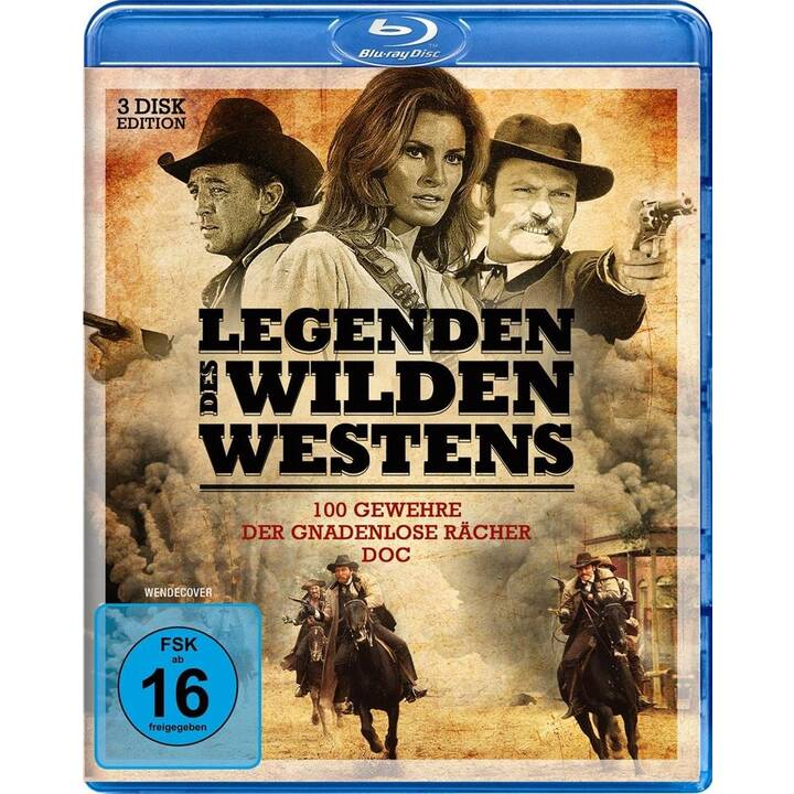 Legenden des Wilden Westens 2 - 100 Gewehre / Lawman / Der gnadenlose Rächer (DE, EN)