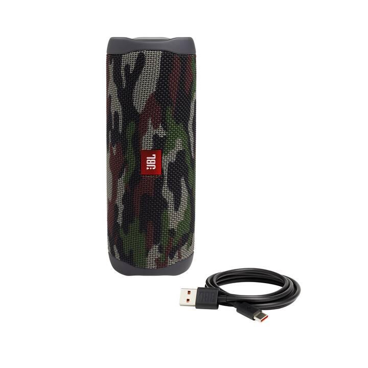 JBL BY HARMAN Flip 5 (Bluetooth 4.2, Camouflage)