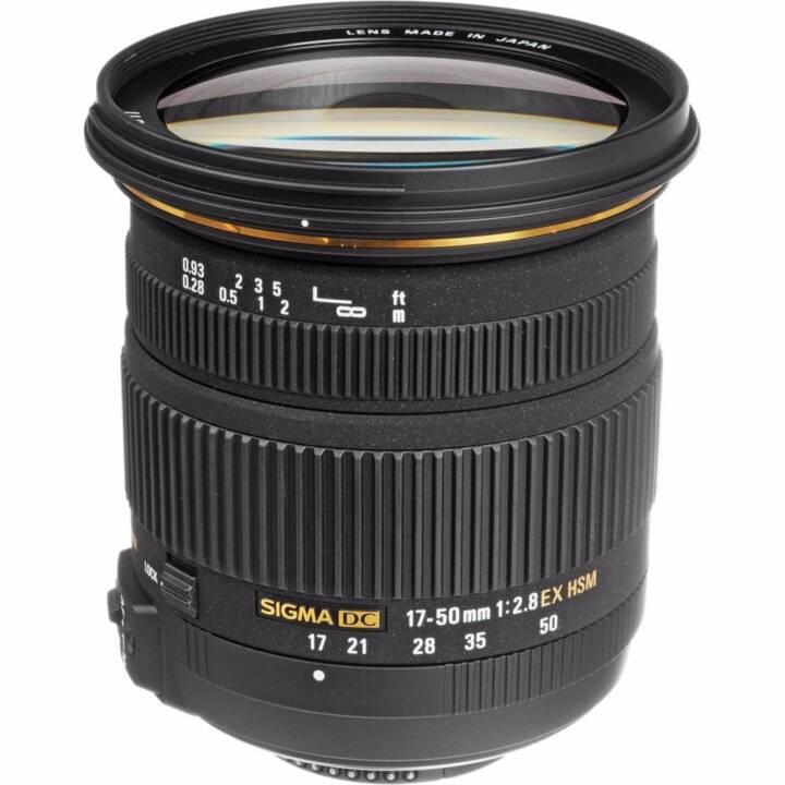 SIGMA Zoomobjektiv 17 mm - 50 mm f/2.8 EX DC OS IF HSM Nikon