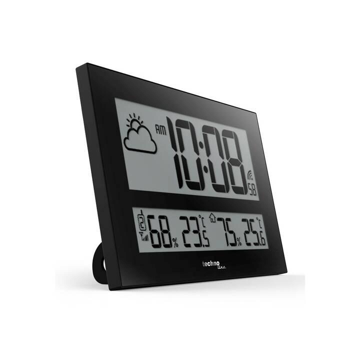TECHNOLINE WS8011 Orologio da parete (Digitale, 430 mm)