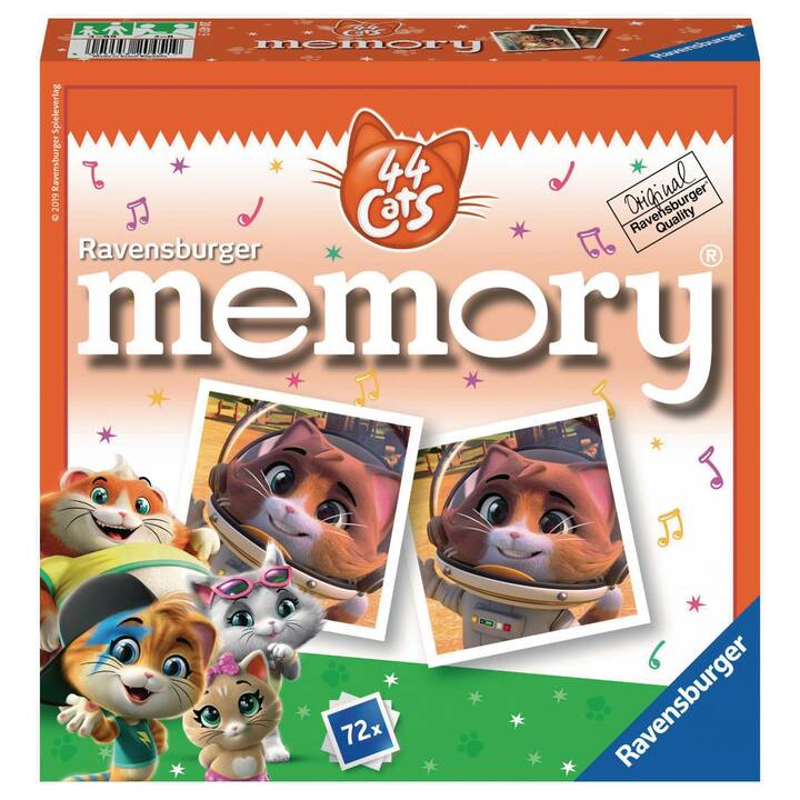 RAVENSBURGER 44 Cats Memory