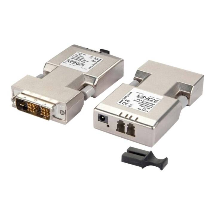 LINDY 1500m LWL / Fibre Optic DVI-D Single Link Extender DVI-D