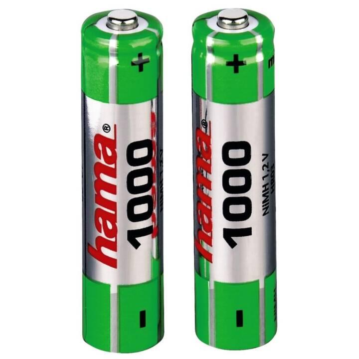 HAMA Batteria (AAA / Micro / LR03, Universale, 2 pezzo)