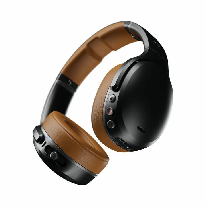 SKULLCANDY Wireless  (Over-Ear, Bluetooth, Braun, Schwarz)