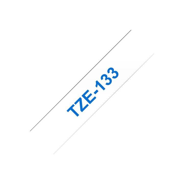 BROTHER TZe-133 Etichette (1,2 cm x 8 m)