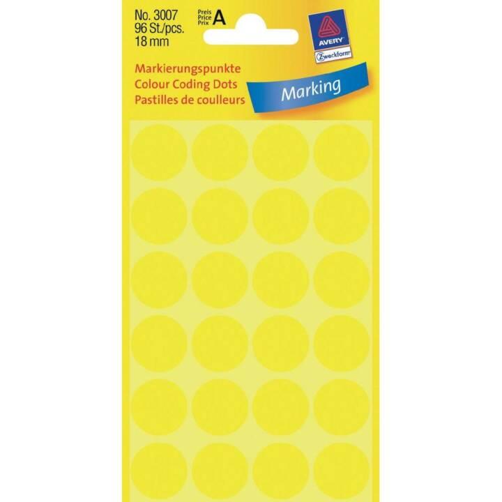AVERY ZWECKFORM Etichette (4 x, 18 mm)