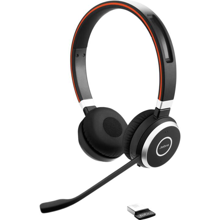 JABRA Evolve 65 UC stereo (On-Ear, Bluetooth, NFC, Nero)