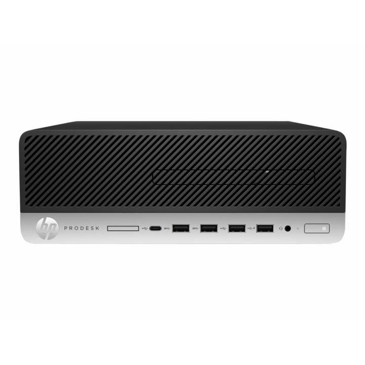 HP ProDesk 600 G3 (Intel Core i5, 8 GB, 256 GB SSD, Schwarz)