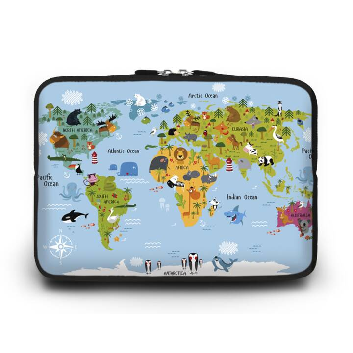 "EG HUADO Custodia per Laptop per 10"" - Mappa"