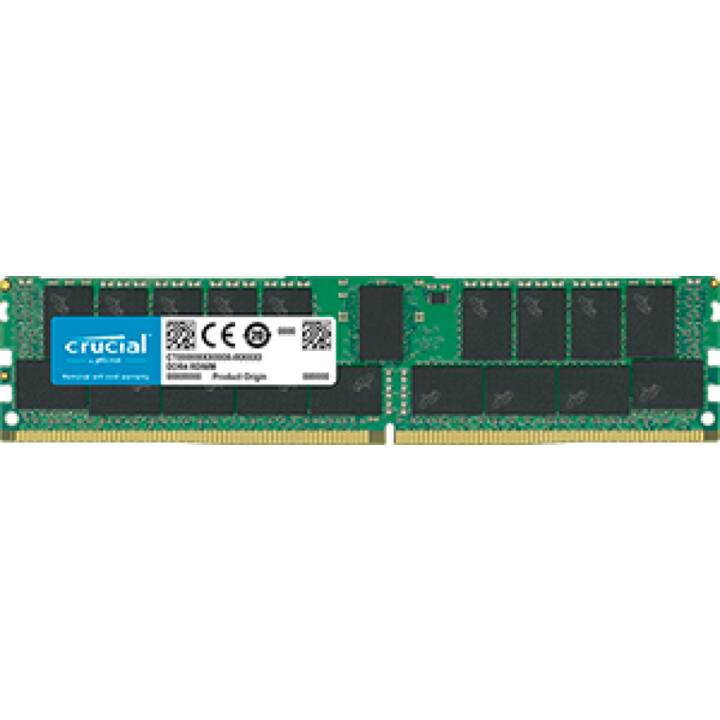CRUCIALE CT32G4RFD4266, 32 GB, DDR4, DIMM 288-PIN