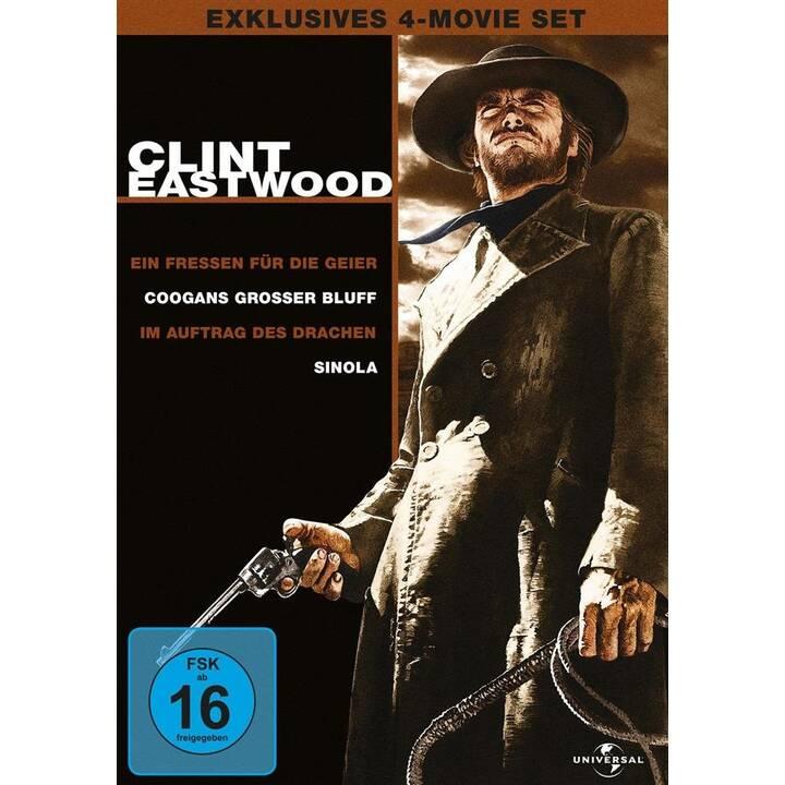 Clint Eastwood - Exklusives 4-Movie Set (DE, EN, FR)