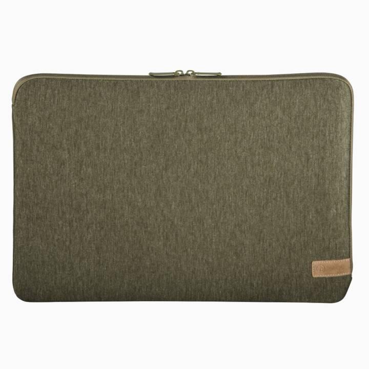 """HAMA HAMA Housse pour ordinateur portable """"Jersey"""" 13,3"""" Olive"""