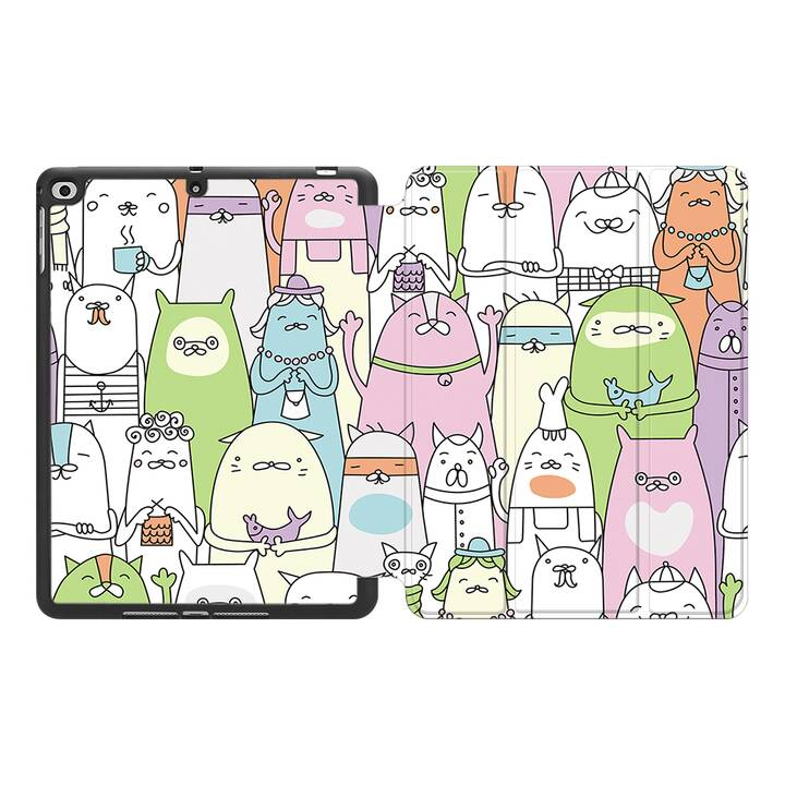 "EG MTT Coque pour Apple iPad Pro 2017 10.5"" - Cartoon"
