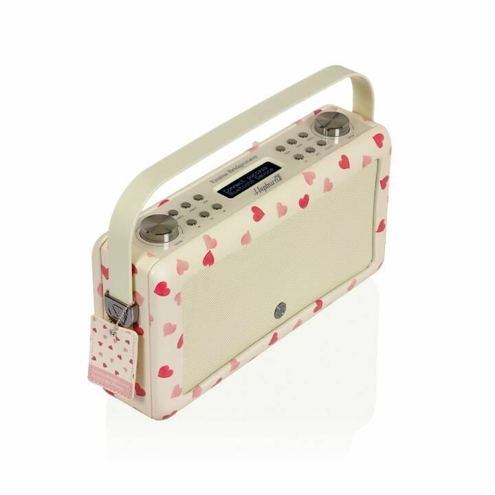 VIEW_QUEST Hepburn MkII Radio per cucina / -bagno (Pink)
