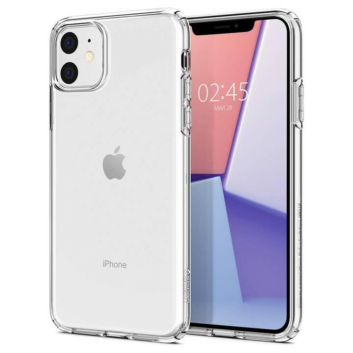 SPIGEN Backcover Liquid Crystal (iPhone XR, iPhone 11, Transparent)