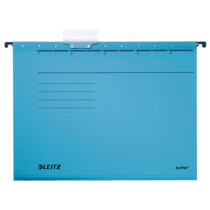 LEITZ file di sospensione Alpha A4 blu Alpha A4 blu