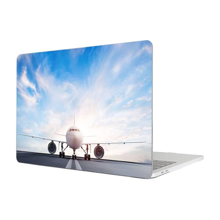 """EG MTT Hülle für Macbook Pro 13"""" Not Touchbar (2016 - 2018) - Flugzeug"""