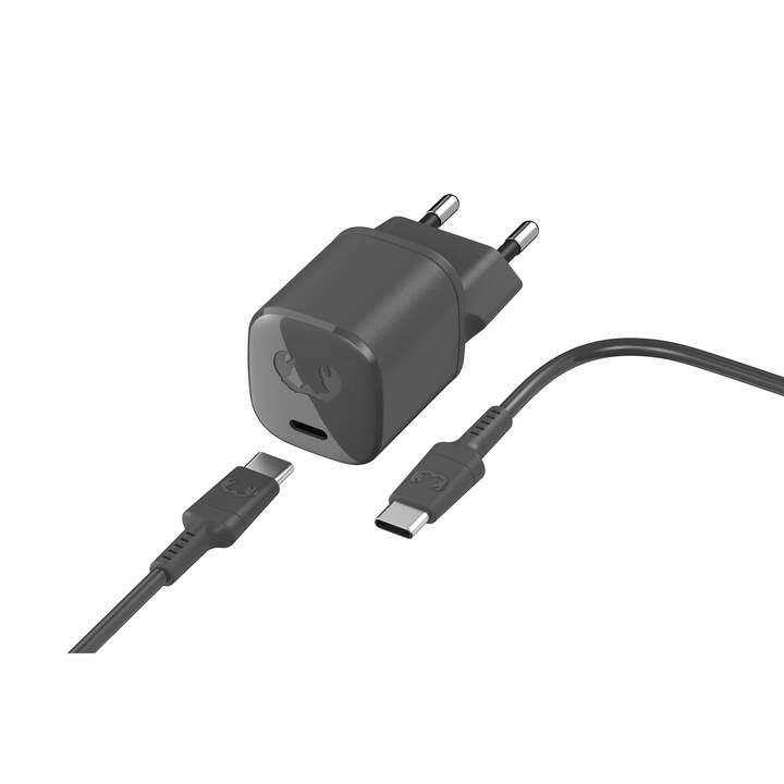 FRESH 'N REBEL USB-C Caricabatteria da parete (18 W, Lightning, USB-C)