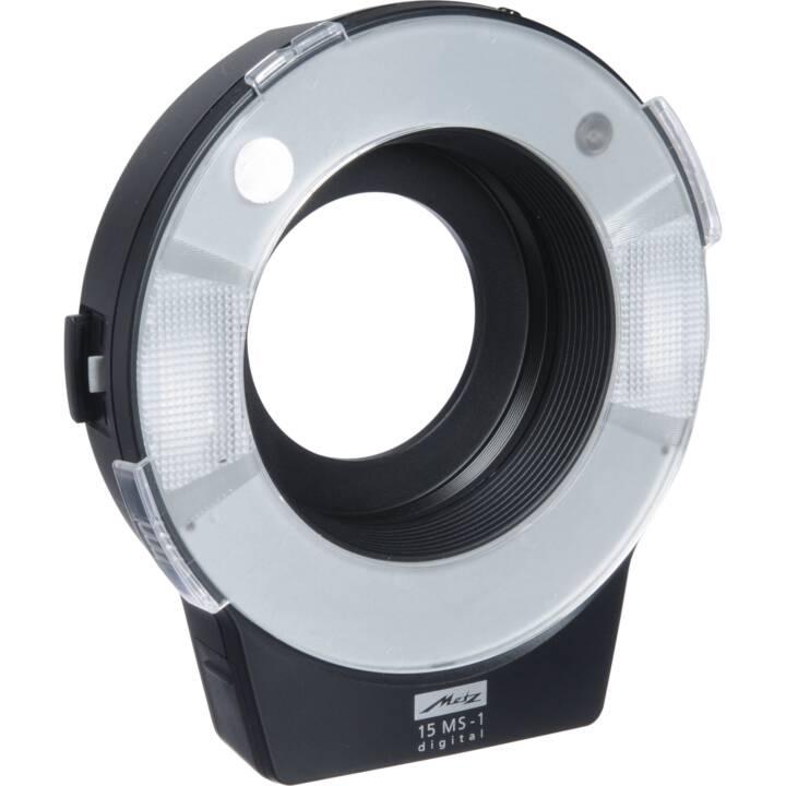 METZ Mecablitz 15 MS-1 Kit flash digitale Macro Ringlight Digital Flash Kit