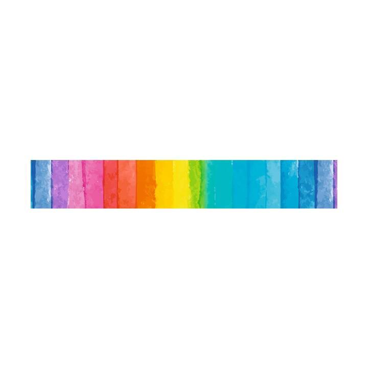 URSUS Masking Tape 30 mm x 10 m, Regenbogen