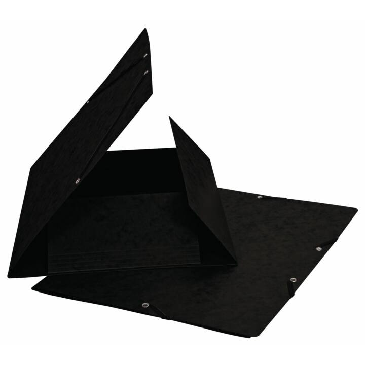 BIELLA chemise à élastique A4 noir