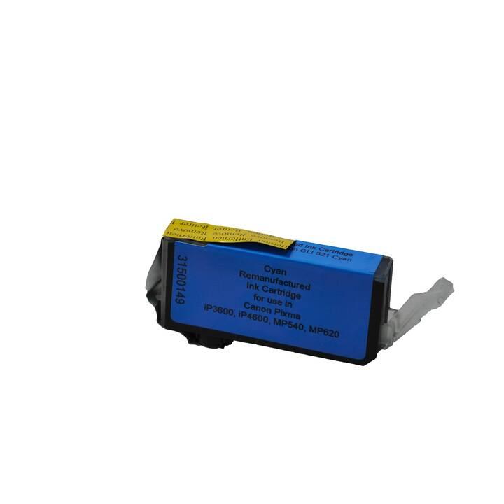 VIDEOSEVEN CLI-521C (Cyan, 1 Stück)