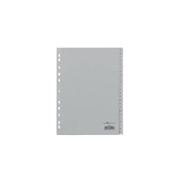 DURABILE Registro grigio A4 A-Z grigio