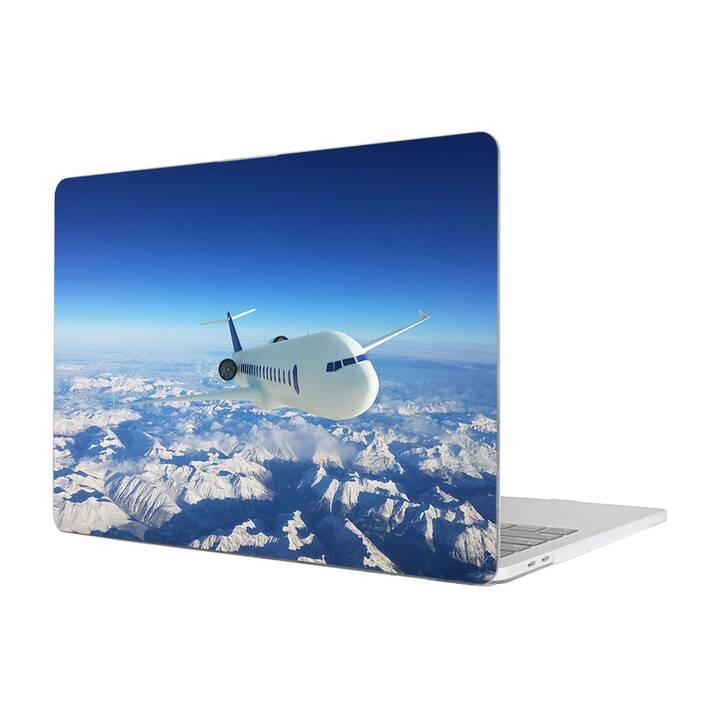 """EG MTT Housse pour MacBook Pro 13"""" Touchbar (2016 - 2018) - Avion"""