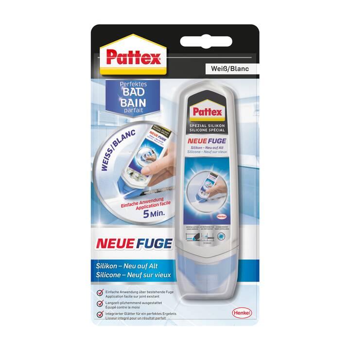 PATTEX Silicone sanitario Perfektes Bad Neue Fuge Silikon (100 ml, Bianco)