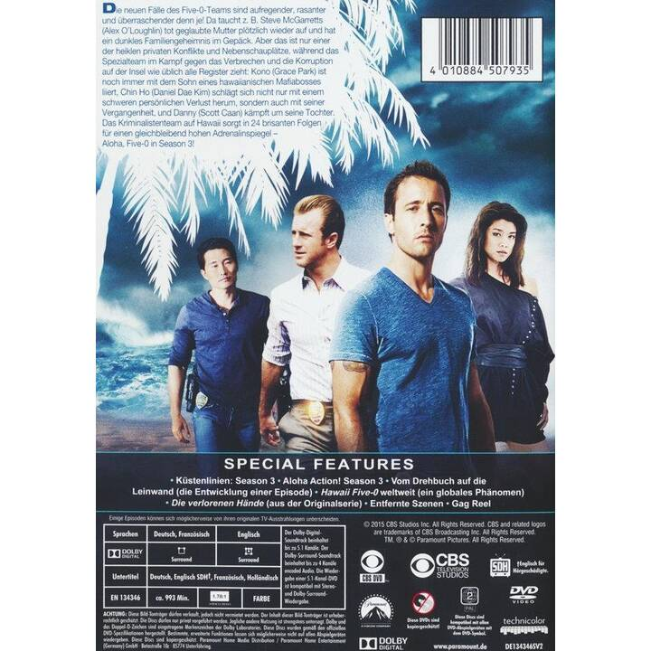Hawaii Five-O Staffel 3 (DE, EN, FR)