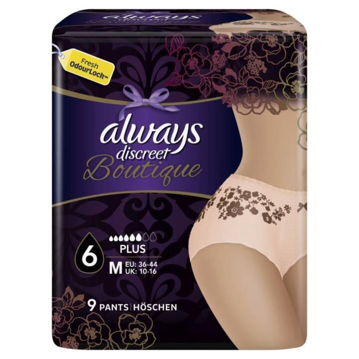 ALWAYS Discreet Boutique Slip incontinenza (9 pezzo, Normal)