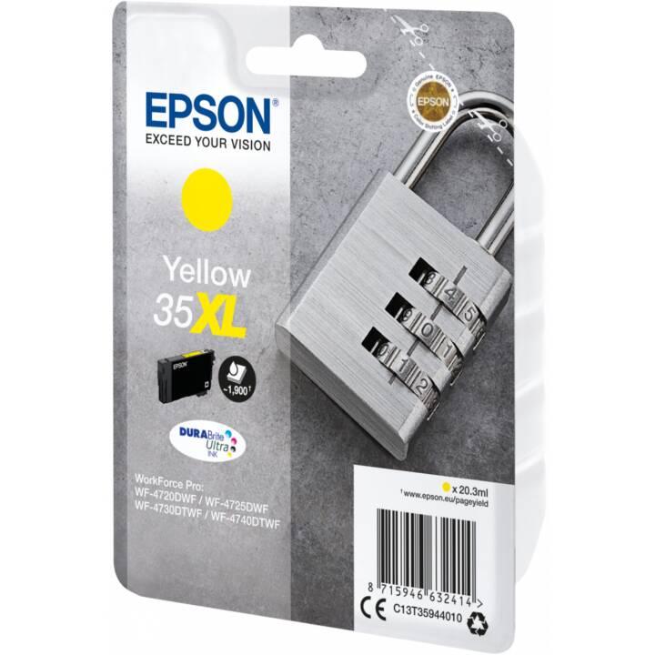 EPSON cartouche simple 35 XL Jaune