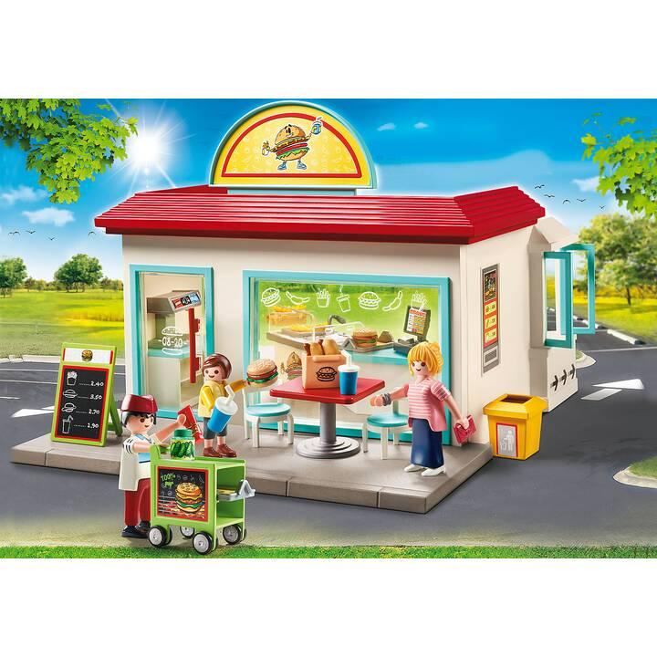 PLAYMOBIL City Life My Burger Shop (70540)