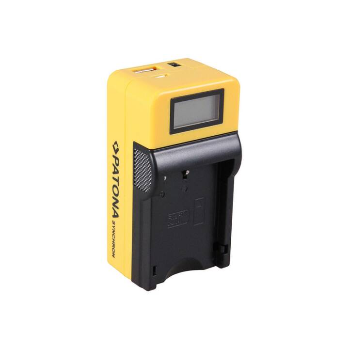 Caricabatterie PATONA Synchron per Pentax DLi109