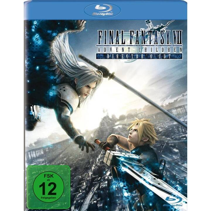 Final Fantasy VII - Advent Children (ES, JA, DE)