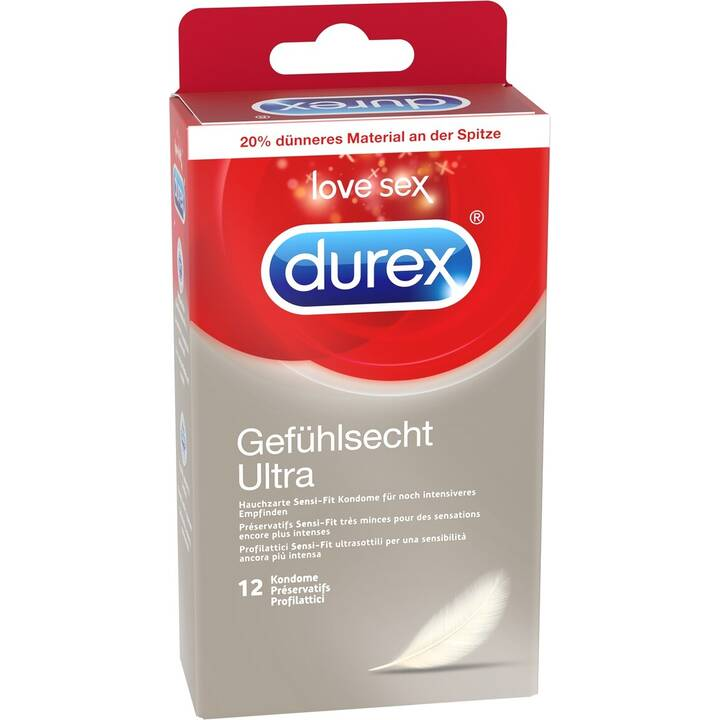 DUREX Kondome Gefühlsecht Ultra (12 Stk.)