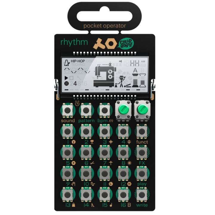 TEENAGE ENGINEERING Synthesizer PO-12 RHYTHM (Nero)