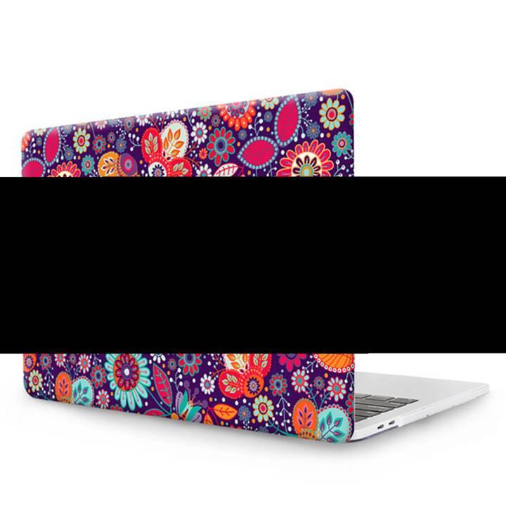 """EG MTT Copertina per computer portatile con tastiera, protezione antipolvere, penna a sfera per MacBook Pro 13"""" - Etnica"""