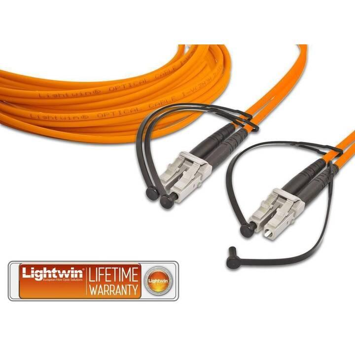 LIGHTWIN LDP-50 Câble réseau (LC Multi-Mode, 10 m)