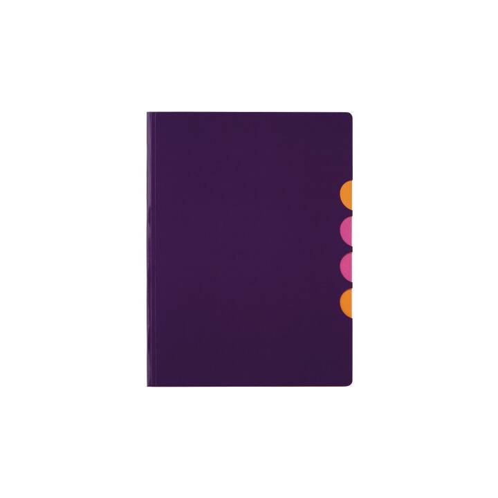 PAGNA pochette 5 compartiments Style up violet