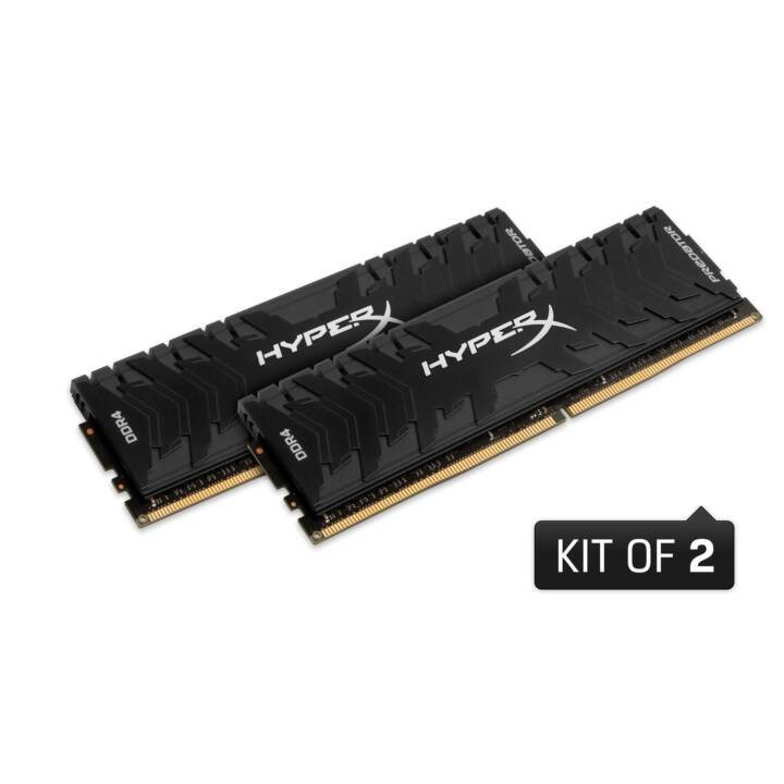 HYPERX Predator (2 x 16 Go, DDR4-SDRAM, DIMM 288-Pin)