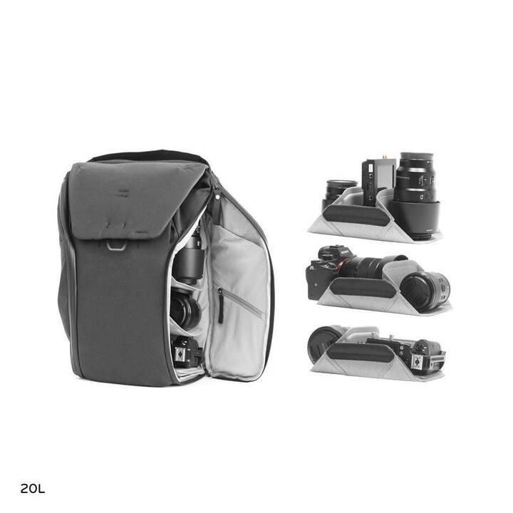 PEAK DESIGN Everyday Backpack 20 l v2 Sac à dos photo (Noir)