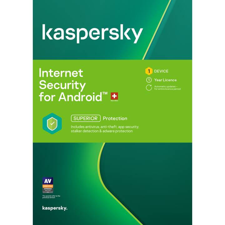 KASPERSKY LAB Total Security Android (Abo, 1x, 1 Jahr, Französisch)