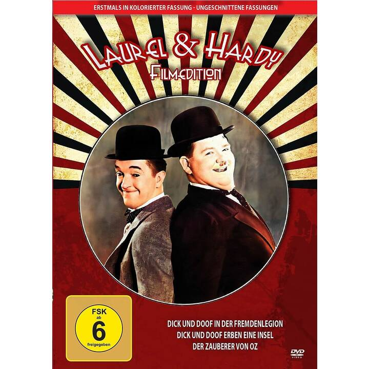 Laurel & Hardy - Filmedition 1  (DE)