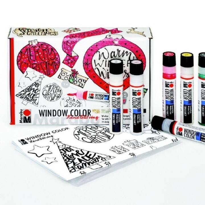 MARABU Window Color Handlettering
