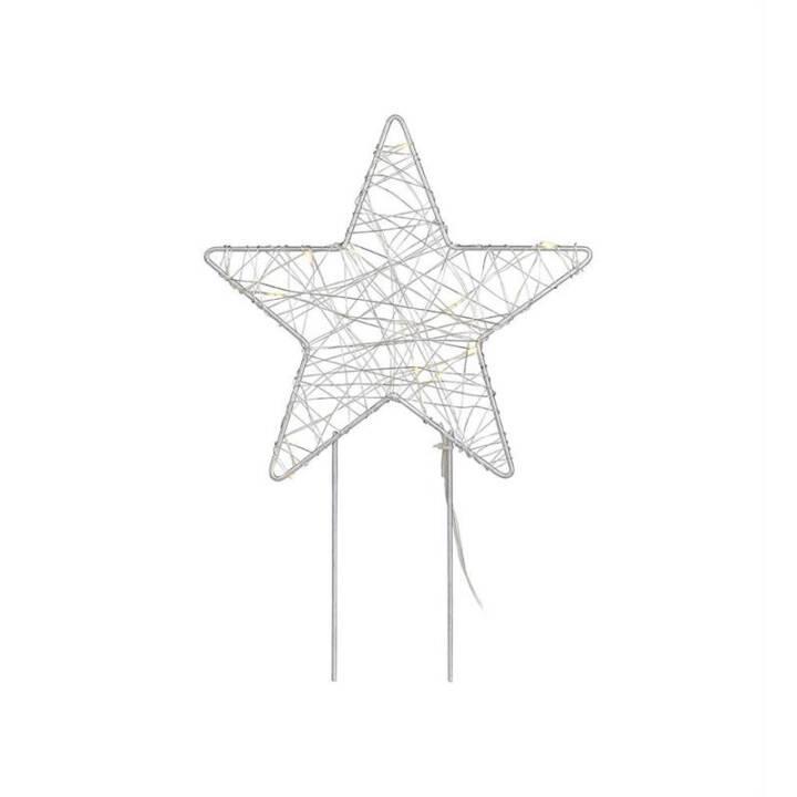 MARKSLÖJD Gardener Deko Stern, 32 cm, LED
