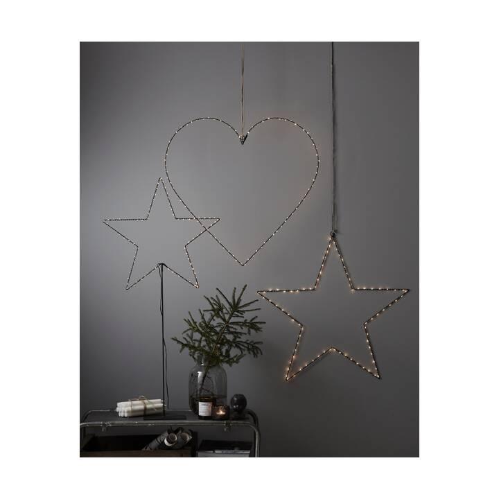 STAR TRADING LED decorazione luce decorazione Mira cuore Mira grande