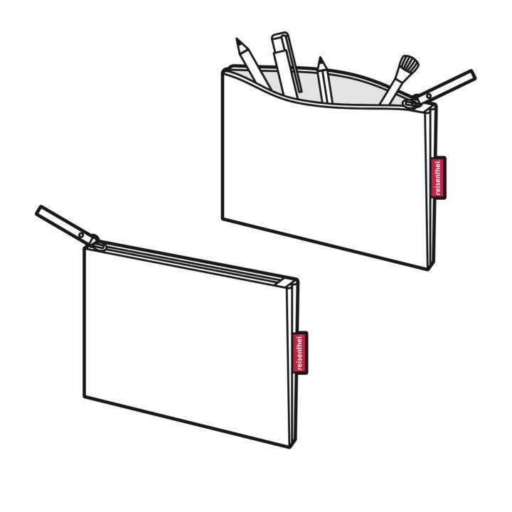 REISENTHEL Queen of the day Trousse (Rouge, Blanc)