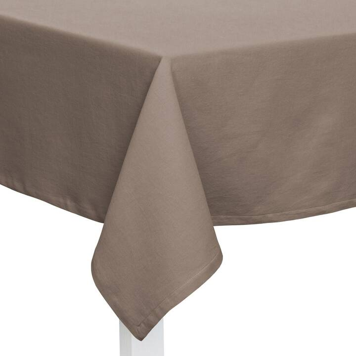PICHLER Nappe One (150 cm x 250 cm, Rectangulaire, Taupe)