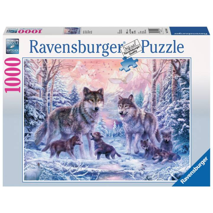 RAVENSBURGER Arktische Wölfe Puzzle